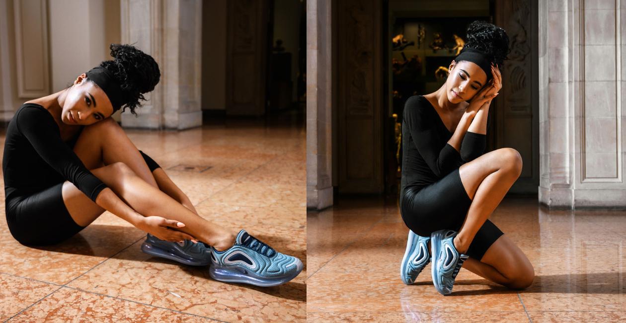 """Nike Air Max 720  """"uyển chuyển"""" trên đôi chân diễn viên Ba-lê"""
