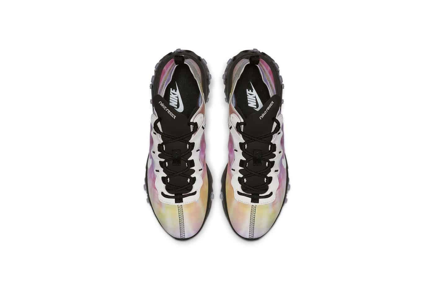 """Nike React Element 55 """"Tie-dye"""" – Phối màu """"trời chiều"""" nhìn là muốn """"xỉu"""""""