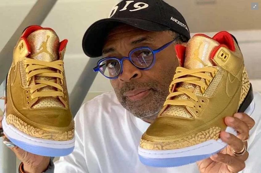 """Spike Lee """"náo loạn"""" thảm đỏ Oscar 2019 với phiên bản Air Jordan 3 """"Tinker"""""""