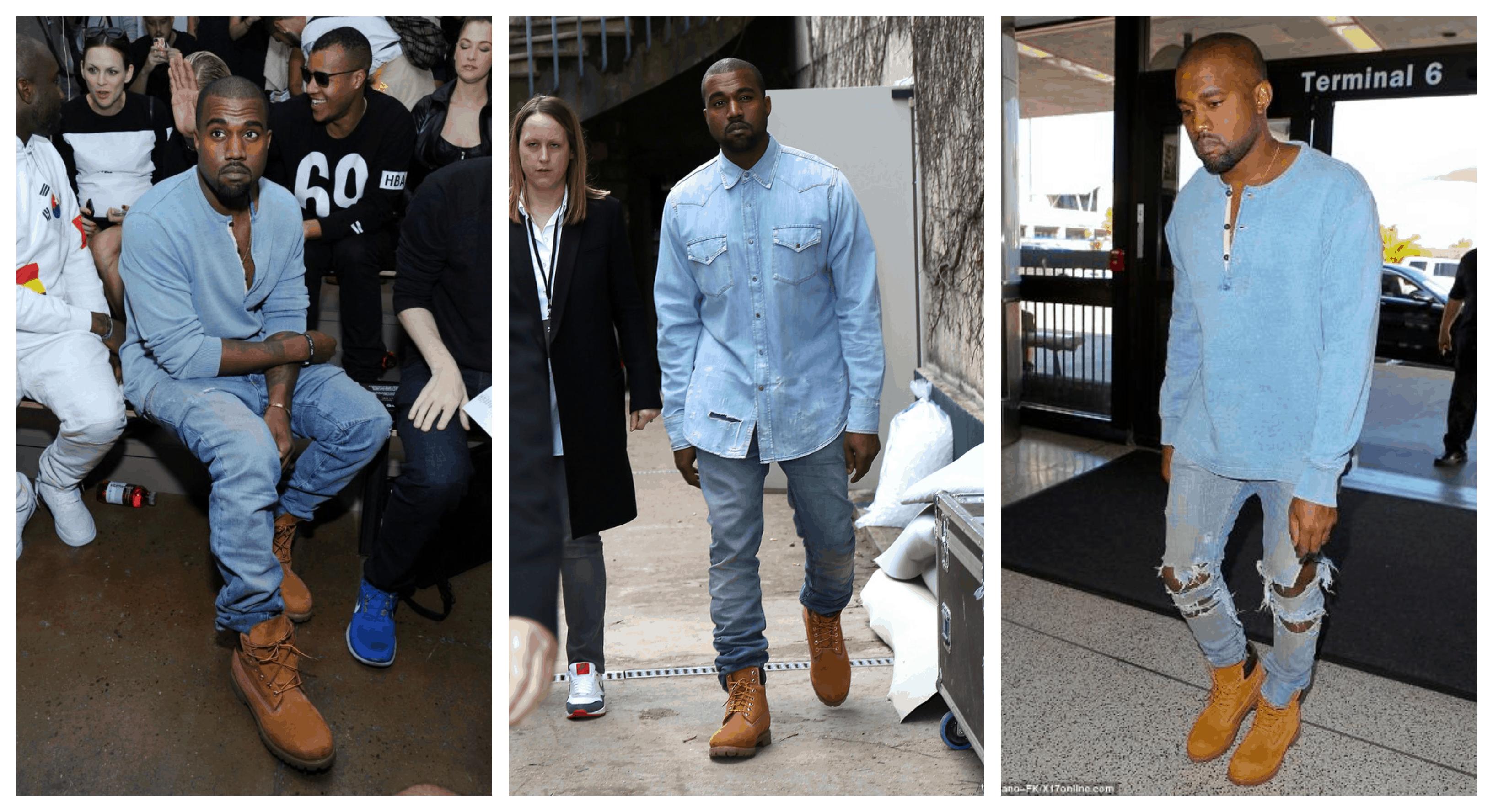 Kanye West ra đường không mang Yeezy thì mang gì?