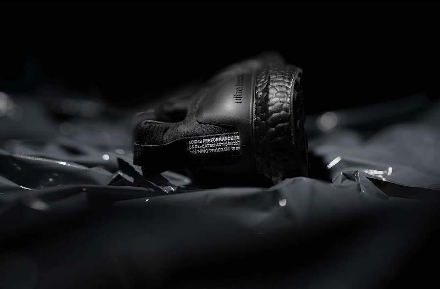"""UNDFTD X adidas Ultra BOOST 2019 xuất hiện phối màu """"all black"""" cực kì ngầu"""