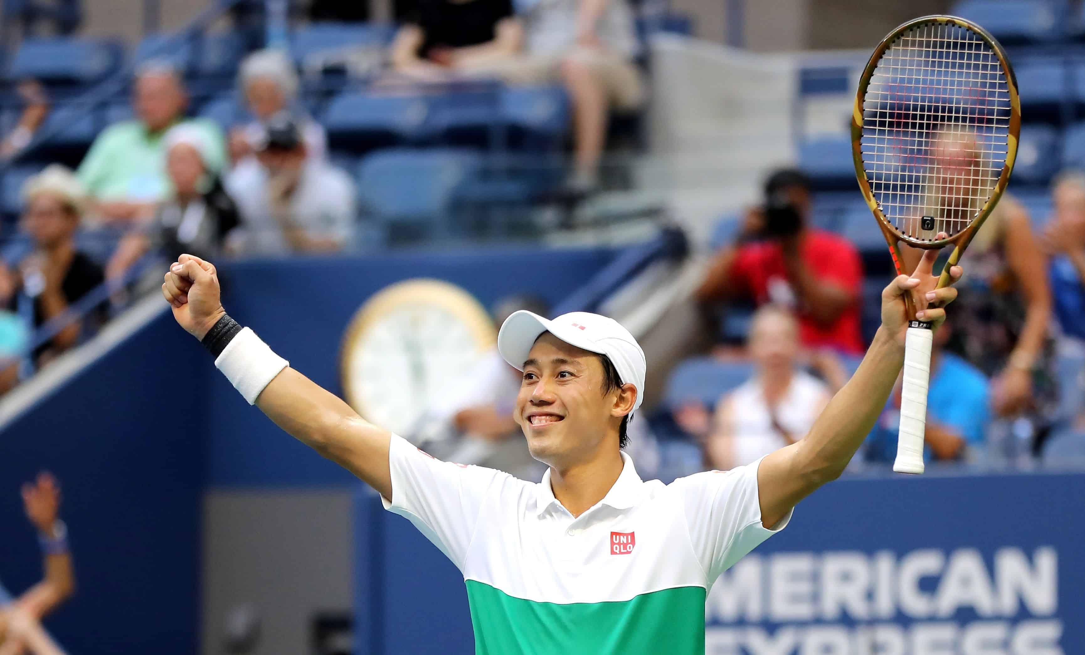 Kei Nishikori sau chiến thắng Marin Cilic tại tứ kết US Open 2018