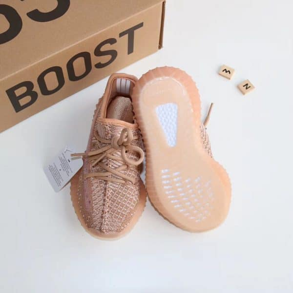 Giày trẻ em adidas yeezy 350 màu hồng đế đèn nháy
