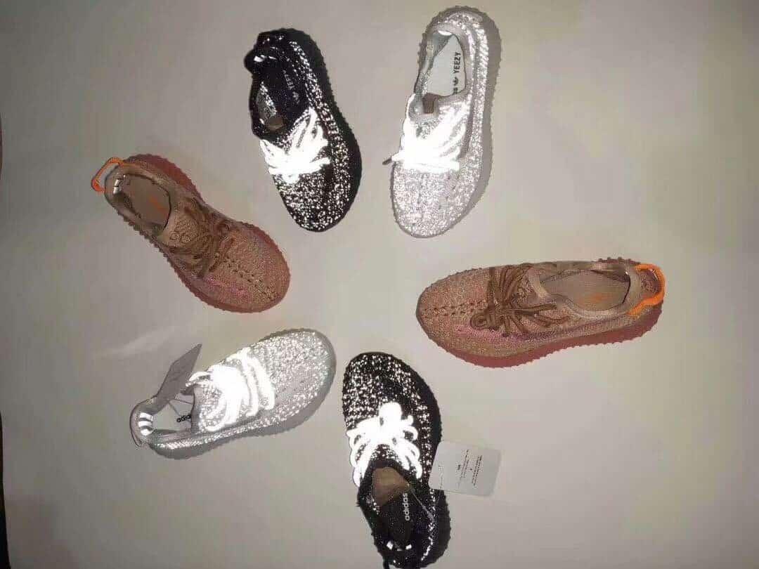 Giày trẻ em adidas yeezy boost 350 V2 static đen