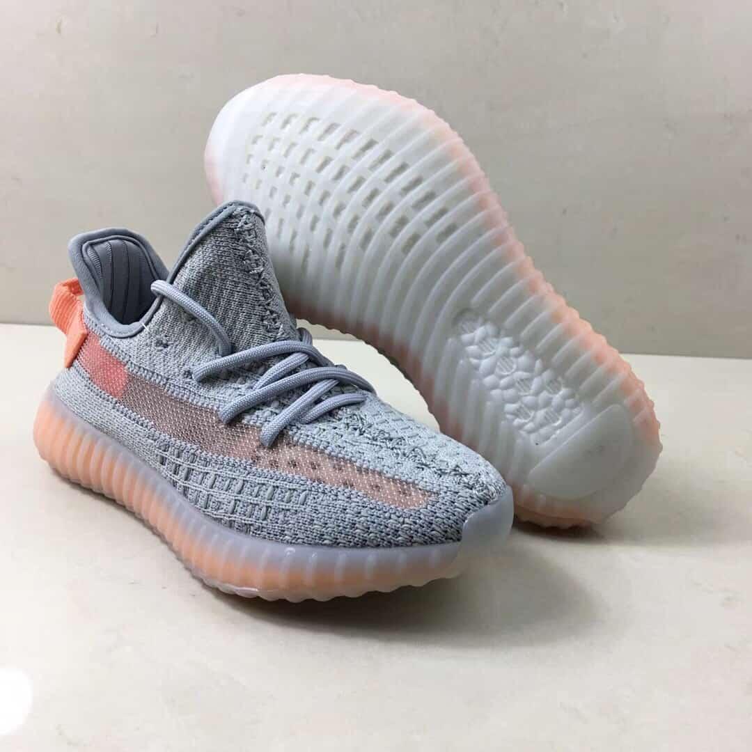Giày trẻ em adidas yeezy boost 350 V2 xám cam