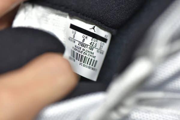 Nike Jordan 7 màu ghi đế xanh