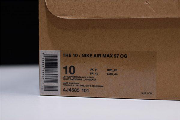 Giày Nike Air Max 97 off white xám