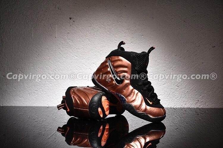 Giày trẻ em Air Foamposite Pro nâu đồng