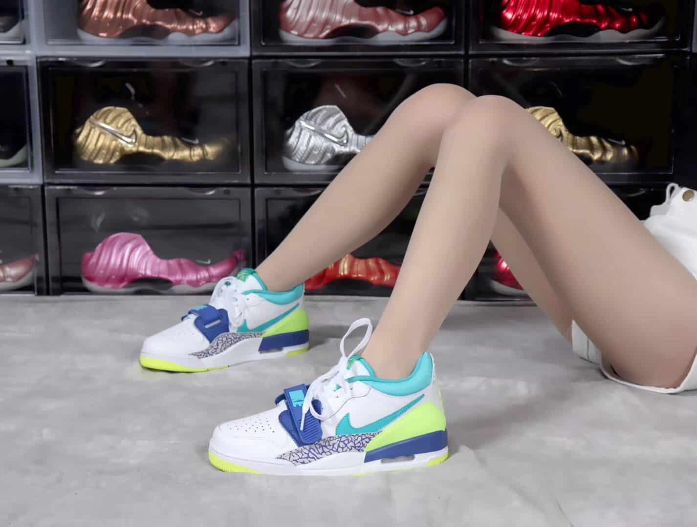 Giày Nike Jordan 4 Legacy 312 Low CD7069-107