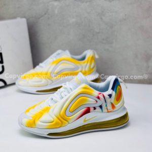 Giày trẻ em Nike air max 720 màu vàng trắng