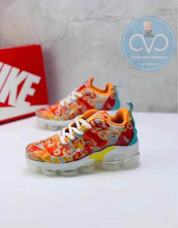 Giày trẻ em Nike Air Vapormax Plus màu cam