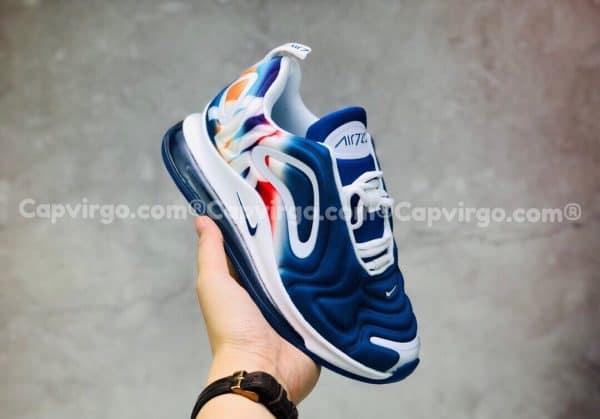 Giày trẻ em Nike air max 720 màu xanh trắng