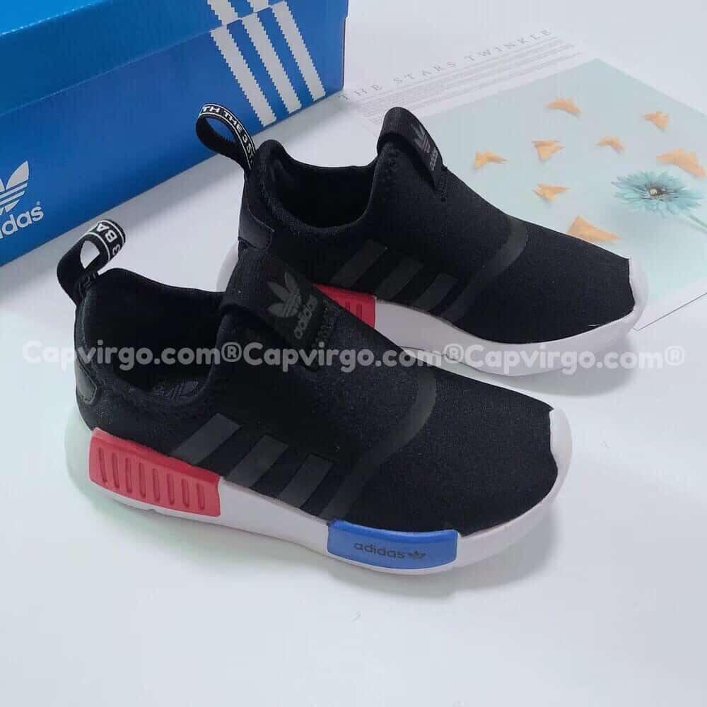 Giày adidas NMD 360 trẻ em màu đen xanh