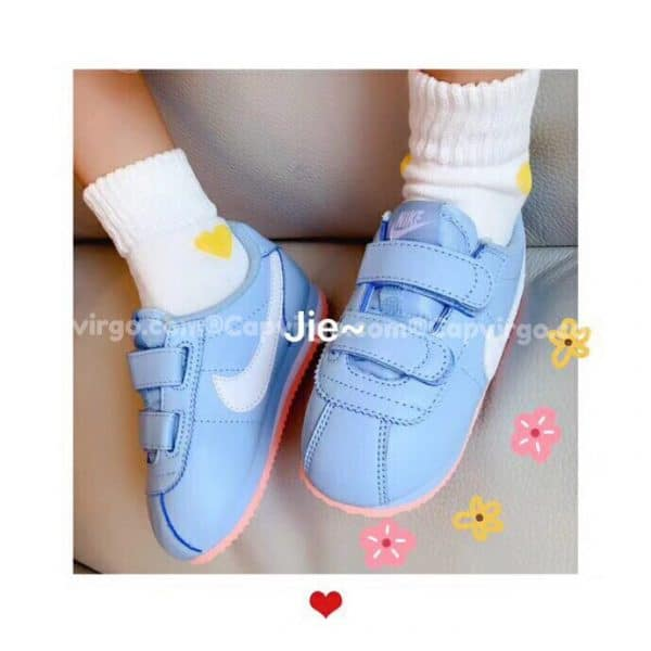 Giày thể thao nike Cortez màu xanh