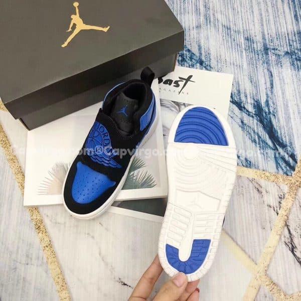 Giày trẻ em Sky Jordan 1 màu xanh dương