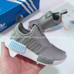 Giày adidas NMD 360 trẻ em màu ghi