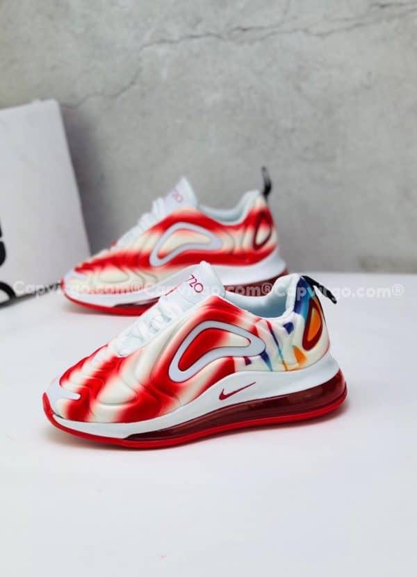 Giày trẻ em Nike air max 720 màu đỏ trắng
