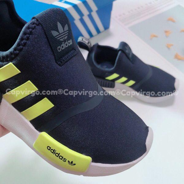 Giày adidas NMD 360 trẻ em màu đen cốm