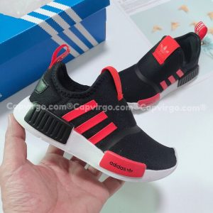 Giày adidas NMD 360 trẻ em màu đen đỏ