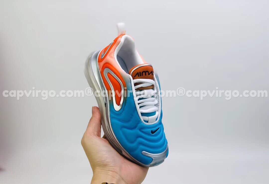 Giày trẻ em Nike air max 720 màu xanh đỏ