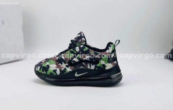 Giày trẻ em Nike air max 720 lính rằn ri
