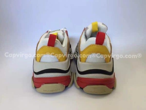Giày Balenciaga Triple S trẻ em màu vàng hồng
