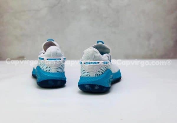 Giày trẻ em Under Armour curry 6 màu trắng đế xanh