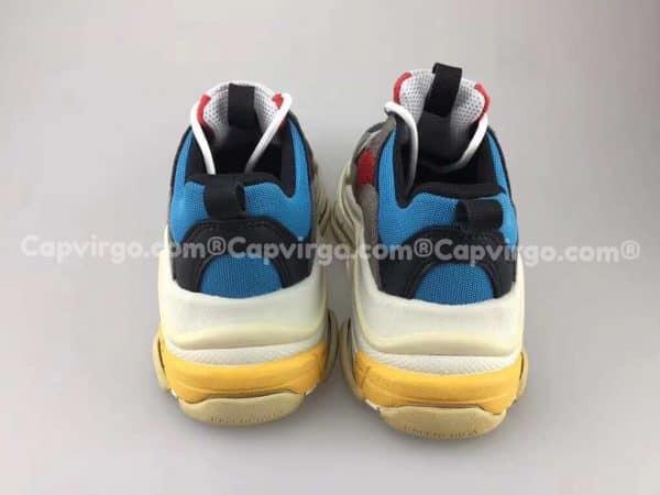 Giày Balenciaga Triple S trẻ em màu đỏ xanh