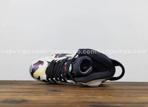 Giày trẻ em Air Jordan 6 Camo đen
