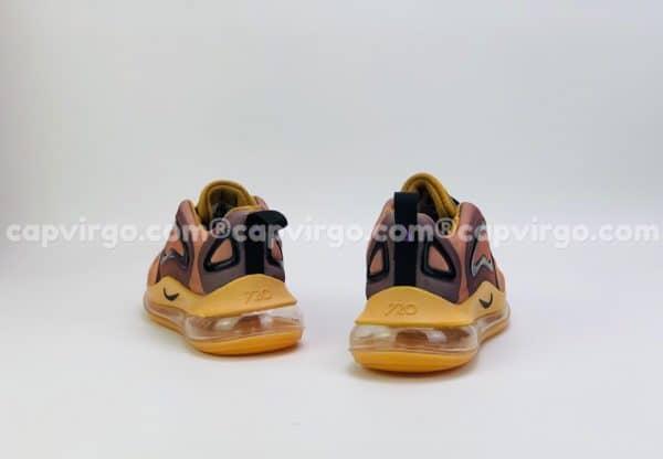Giày trẻ em Nike air max 720 màu vàng nâu