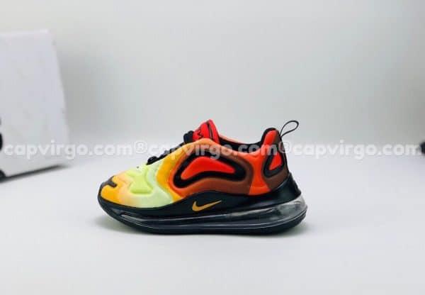 Giày trẻ em Nike air max 720 màu đỏ lửa