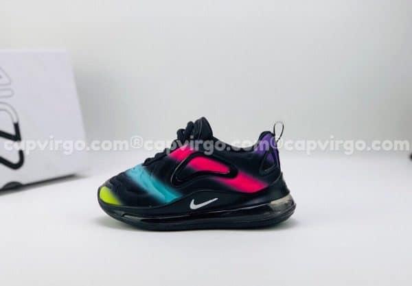 Giày trẻ em Nike air max 720 màu cầu vồng