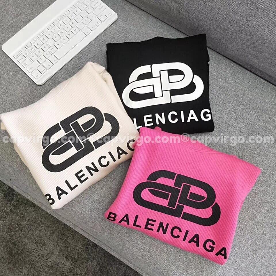 Áo trẻ em Balenciaga dài tay màu đen
