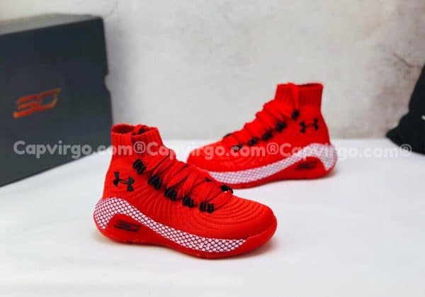 Giày trẻ em Under Armour curry 6 màu đỏ