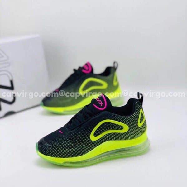Giày trẻ em Nike air max 720 màu đen cốm