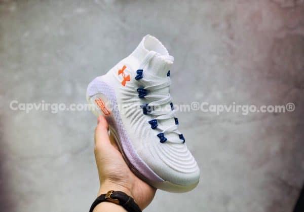 Giày trẻ em Under Armour curry 6 màu trắng xanh