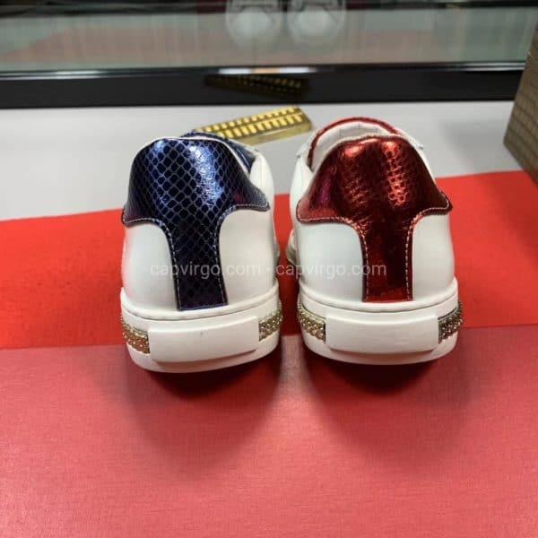 Giày gucci rắng màu trắng chữ made in italy