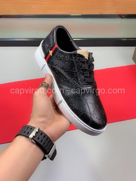 Giày gucci ong màu đen siêu cấp like au msgc02
