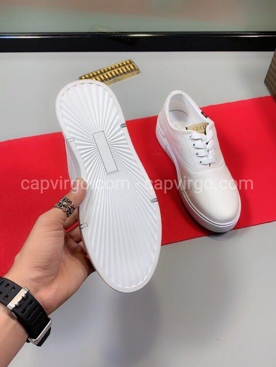 Giày gucci ong màu trắng siêu cấp like au msgc01