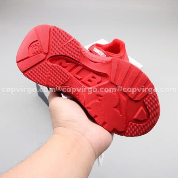 Giày trẻ em MLB YANKEES Big Ball Chunky A màu đỏ
