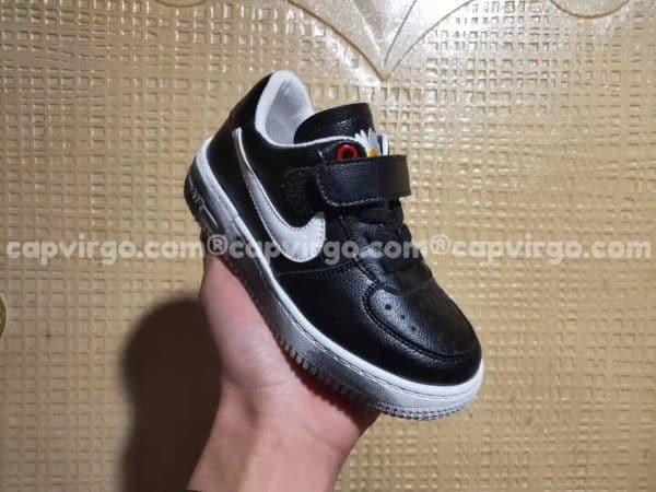 Giày trẻ em nike Air Force Para Noise màu đen