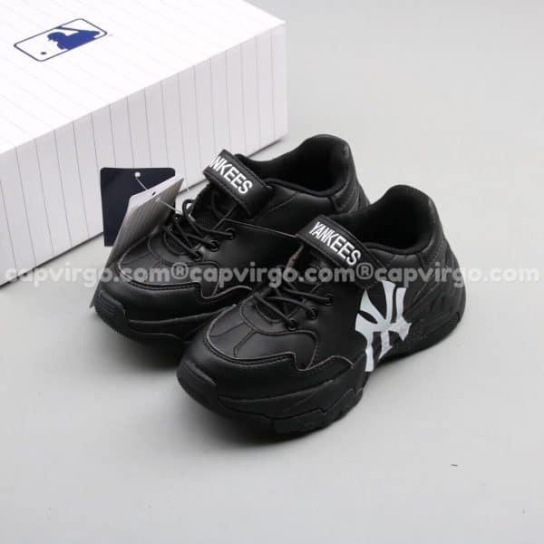 Giày trẻ em MLB YANKEES Big Ball Chunky A màu đen