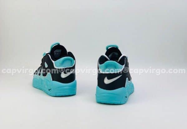 Giày trẻ em Nike Air More Uptempo màu xanh đen
