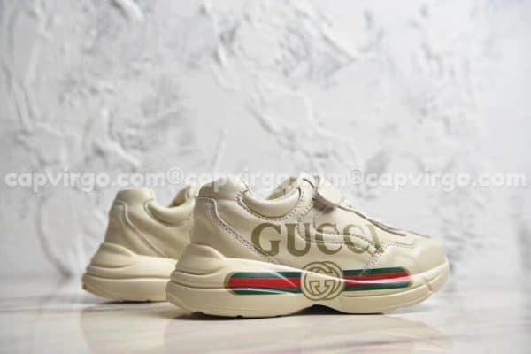 Giày trẻ em giày Gucci Rhyton Vintage Trainer