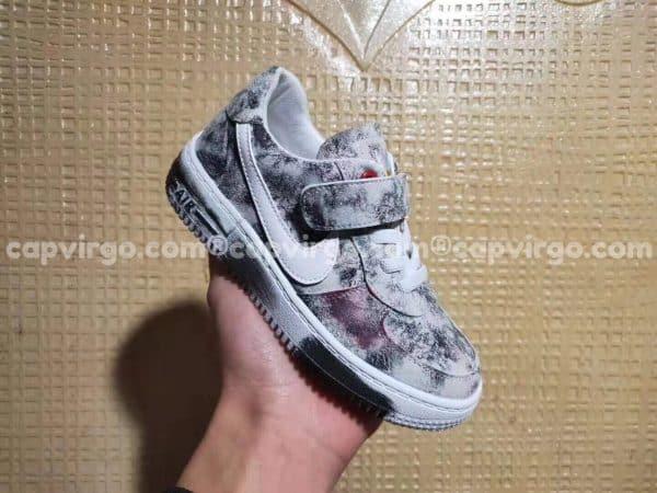 Giày trẻ em nike Air Force Para Noise màu đốm