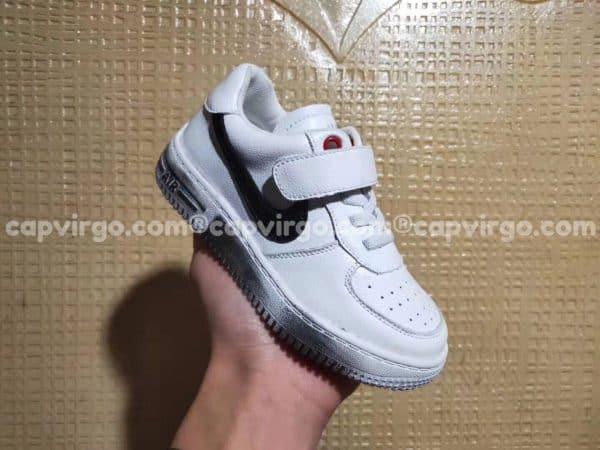 Giày trẻ em nike Air Force Para Noise màu trắng