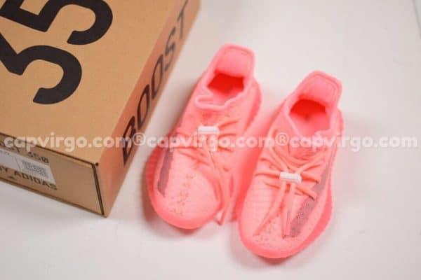 Giày trẻ em Yeezy 350 v2 màu hồng