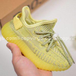 Giày trẻ em Yeezy 350 v2 màu vàng chanh