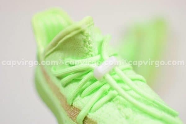 Giày trẻ em Yeezy 350 v2 màu xanh lá