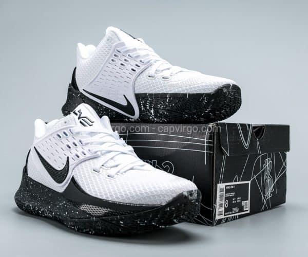 Giày Nike Kyrie Low 2 trắng đế đen logo đen